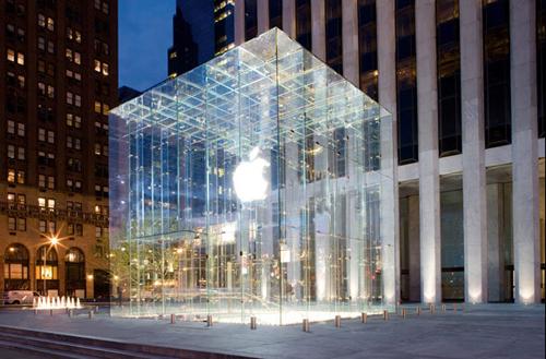 Apple's Original Fifth Avenue Storefront